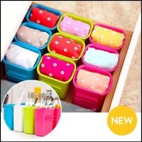 harga Kotak Box Plastik Tempat Kosmetik Alat Rias Buah (Model SAMBUNG)(WN53) Tokopedia.com