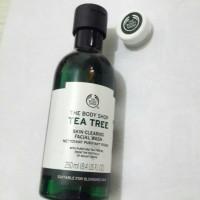 The Body Shop Tea Tree Facial Wash 250 Ml