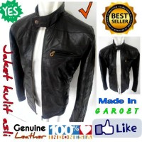Jaket kulit asli Garut/Jaket kulit asli termurah se-tokopedia JK-52