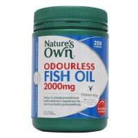 NATURES OWN ODOURLESS FISH OIL 2000MG - 200 CAPS