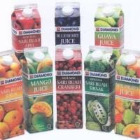 Jual Diamond juice Variant rasa Jeruk,Apel,Jambu,Mangga,Blueberry,Cranberry Murah