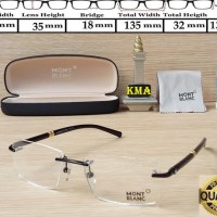 kacamata mont blanc / frame kacamata minus / kacamata bor boran