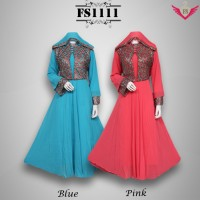 maxi dress baju pesta jodha busana muslim gamis kebaya india