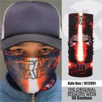 CK Bandana 1612001 Buff Masker Multifungsi Motif Kylo Ren Star Wars