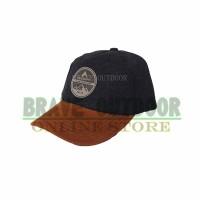 Topi Eiger T575 Black Brown Baseball Cadet Light
