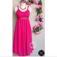 harga mini dress bali kelereng polos Tokopedia.com