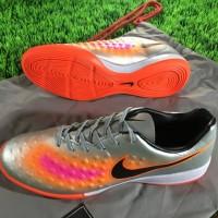 Sepatu Futsal Nike Magista II Onda IC - Silver Orange