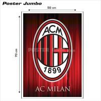Poster LOGO AC MILAN FC #03 - Jumbo size 50 x 70 cm