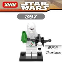 XINH Minifigure Star Wars Series - Snow Chewbacca (XINH 397)