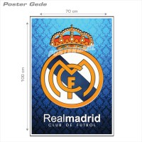 Poster REAL MADRID FC #31B: LOGO - Gede 70 x 100 cm