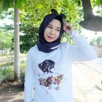 Jual Tumblr Tee / T-Shirt / Kaos Wanita Lengan Panjang Body Girl Murah