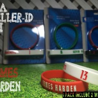 JAMES HARDEN #13 NBA BALLER ID ORI BAND BANDS BASKETBALL WRISTBAND