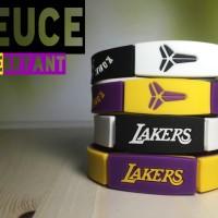 DEUCE KOBE BRYANT LA LAKERS WRISTBAND GELANG NBA BASKETBALL MVP