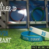KEVIN DURANT #35 NBA BALLER ID ORI BAND BANDS BASKETBALL WRISTBAND