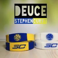 DEUCE STEPHEN CURRY MVP WRISTBAND GELANG BASKETBALL NBA GLOW IN DARK