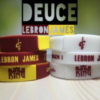 DEUCE LEBRON JAMES MVP KING WRISTBAND GELANG NBA BASKETBALL #23 GLOW
