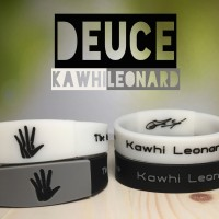 DEUCE KAWHI LEONARD MVP WRISTBAND GELANG BASKETBALL NBA GLOW IN DARK