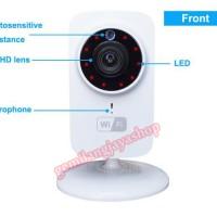 Jual Mini IP Wifi SD CCTV Wireless Camera HD 720P Smartphone Audio CAM Baby Murah