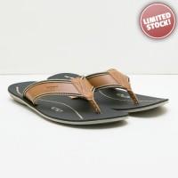 Sendal Pria Kasual - Ivan Mocha Flop Sandals
