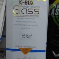 harga K-box Tempered Glass Infinix Hot Note 2 X600 Anti Gores Kaca Kbox Tokopedia.com