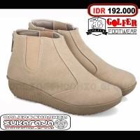 Jual Sepatu boot cewek santai casual hangout gaya keren boots wanita Murah