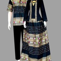 harga Couple batik sarimbit kebaya pesta baju pasangan seragam D1981 Tokopedia.com