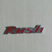 Jual Emblem Rush Reflector Warna Merah Murah
