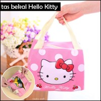 Iconic Insulated Lunch Bag Tas Bekal Makan Wisata Travel HELLO KITTY