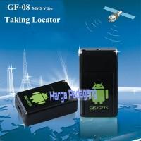 Alat Sadap Camera Mini Tracker GPS GSM MMS + GPRS Locator GF 08