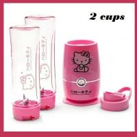 Botol Minum Hello Kitty Blender Mudah Dibawa | Shake N Take 2 Cup