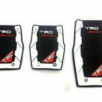 Pedal Gas TRD Sportivo Manual Hitam Putih [Exclusive] KA07