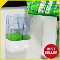 harga Tempat Sabun Shampo Cair Pencet 2 Tabung/ Dispenser Hand Soap (DOUBLE) Tokopedia.com