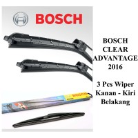 WIPER BOSCH CLEAR ADVANTAGE FRAMELESS FORTUNER 2005-2015 2Pcs (kn-kr)