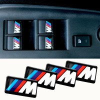 M Tech / M Power 3D sticker decorative for BMW / M2 / M3 / M5 / M7