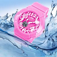 Jam Tangan SKMEI Murah Casio Women Sport LED Watch Water Resist 50m- O