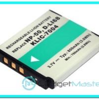 Baterai Kamera Pentax D-LI68 Fujifilm NP-50 NP-50A Kodak KLIC-7004 (