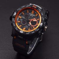 Jam Tangan Pria Casio G Shock MTG 1000 Dualtime List Oranye