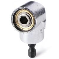 XBI033. Bor 105Angle 1/4' Ext Hex Drill Bit Screwdriver Socket Holder