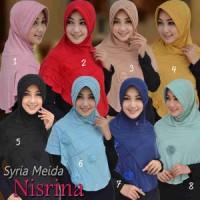 Jilbab Syria Meida Nisrina / Bergo Syria Meida Nisrina / Bergo Meida2