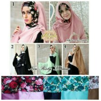 Jilbab New Risty Khimar / Khimar Risty New / Khimar Risty Katun Jepa2