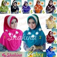 Jilbab Shakina Zahra / Sakinah Zahra / Sakina / Bergo Flower2