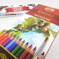 Koh-I-Noor Aquarelle 24 Colored Pencils Mondeluz