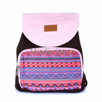 Fresh Tas Ransel Serut Heejou Pink Dakota / Ransel / ABG