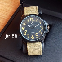 Jam Tangan Arron Cross Pria / Jtr 511 Cream
