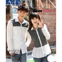 Autumn couple /fashion couple/lengan panjang/sepasang/kaos couple/PP