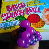 Splat Toys Ninja Stress Ball Medium Biru