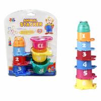 Educational Animal Stacker Kids Toys