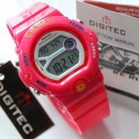 Jam Tangan Wanita / Cewek Digitec Digital Ladies Rubber Pin Jam Tangan