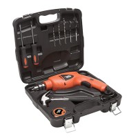 Black&Decker HD400K9 Peralatan Bor Palu Dan Obeng Dalam 03081