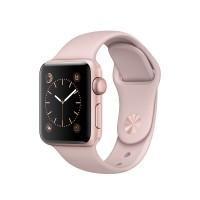 Apple Watch Series 1 Rose Gold Aluminum Pink Sand Sport Band 42mm ORI